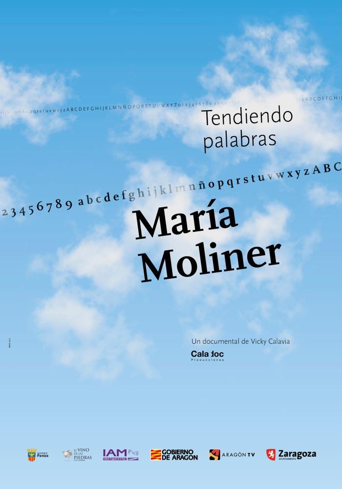 María Moliner - Tendiendo Palabras - Cartel